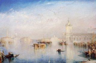 ヴェネツィア:税関舎とサン・ジョルジョ・マッジョーレ(テイト・ギャラリー作品)
