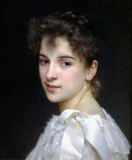 ガブリエル・ドリエンツァの肖像  原画同寸