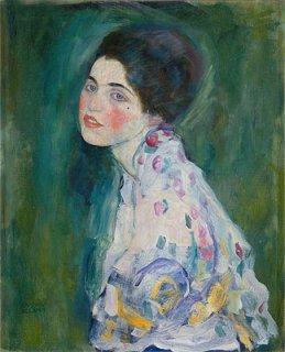 ある女性の肖像  原画同寸
