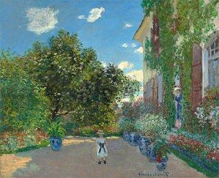 アルジャントゥイユの画家の家