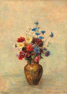 花瓶の花  原画同寸