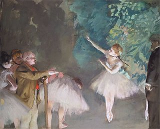 バレエのリハーサル
