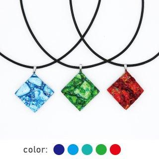 [Reflect] ネックレス Mサイズ (革紐タイプ)全5色