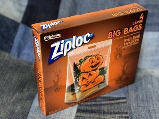ziploc☆Big Bags☆ハロウィン柄