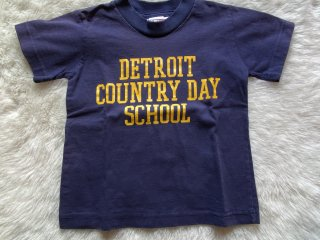 5 DETROIT COUNTRY DAY SCHOOL 古着 Tシャツ