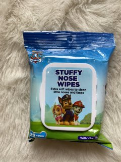 Stuffy Nose Wipes パウパトロール 25count