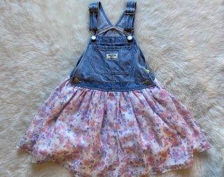 5T☆used oshkosh ジャンバースカート