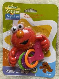 ガラガラ 赤ちゃんおもちゃ☆セサミストリート
