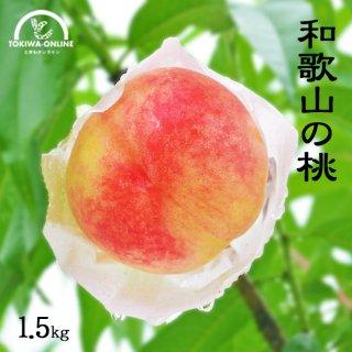桃 無農薬 ギフト 1.5kg