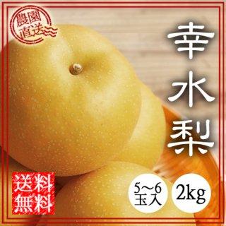 幸水(梨) 2kg