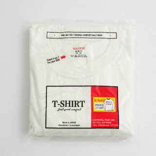 【WASEW】CREW NECK L/S PACK TEE (クルーネック ロングスリーブパックT)