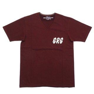 【GERUGA】HEAVEY DUTY V-NECK T-S (ヘビーデューティー Vネック Tシャツ )
