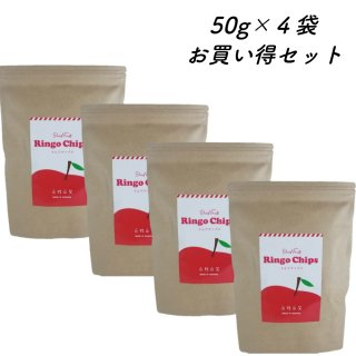 百笑 りんごチップス 50g×4set