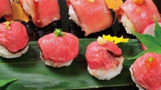 佐賀牛(A5ランク)てまり寿司40個(10個×4セット)