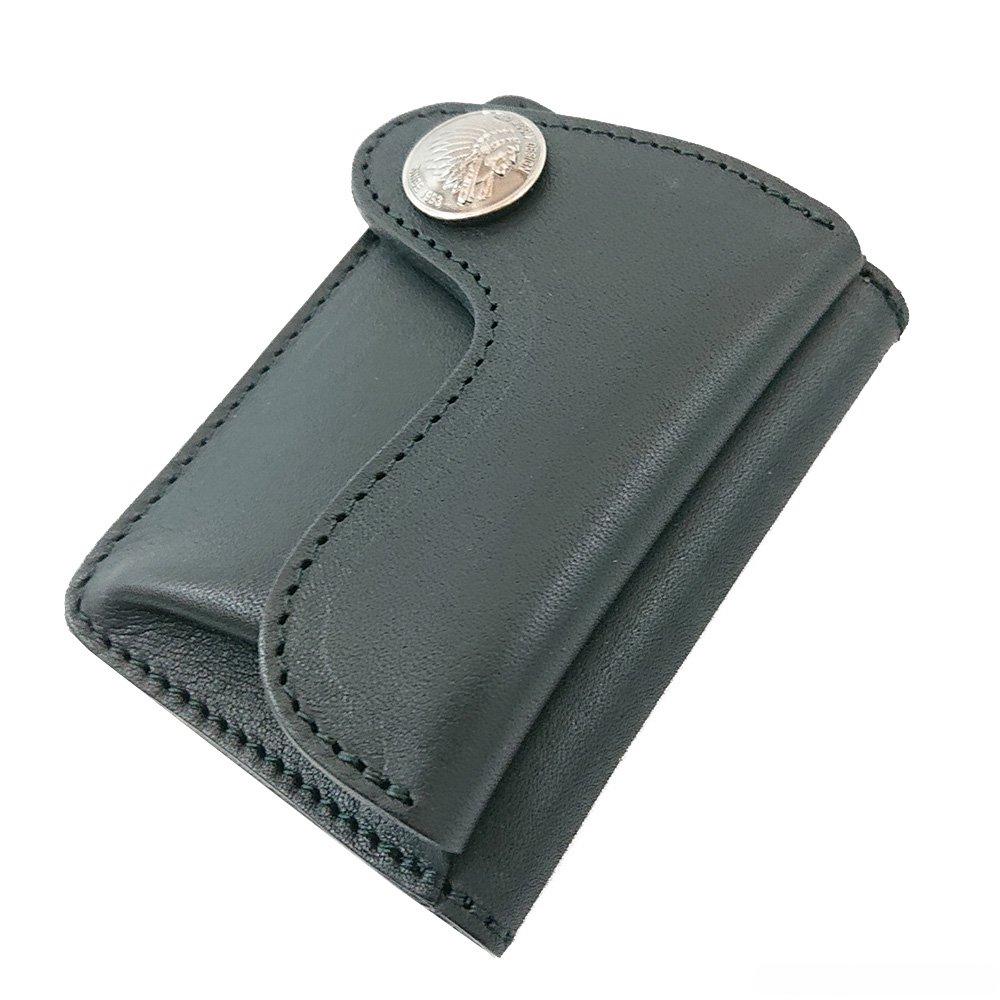 REDMOON HR-WMW ホースライディングデザインの三つ折りコンパクト財布【ステッチ】
