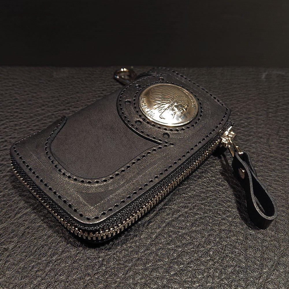 REDMOON  BB-LZKC-LC ポケット付きのベアバックキーケース