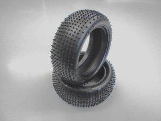 AMR-W5632M マイクロブロックナロータイヤ ミディアム (4WD/M/2PCS) 1/10用