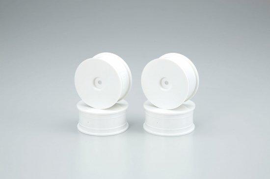 AMR-92017-4W ディッシュホイールセット(ホワイト/24mm/4Pcs)