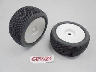 AMR-HRT8-AMA-S+RIM HR Truggy Tyres AMAZZONIA S/Glued 2pcs