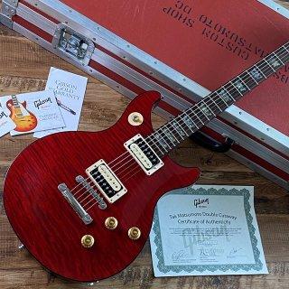 [中古]Gibson Custom Shop / Tak Matsumoto DC Cherry 1-Piece Flame Maple Top<img class='new_mark_img2' src='https://img.shop-pro.jp/img/new/icons20.gif' style='border:none;display:inline;margin:0px;padding:0px;width:auto;' />