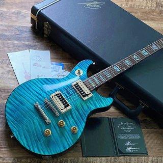[中古]Gibson Custom / Tak Matsumoto DC Standard Flame Top Aqua Blue 2nd Edition