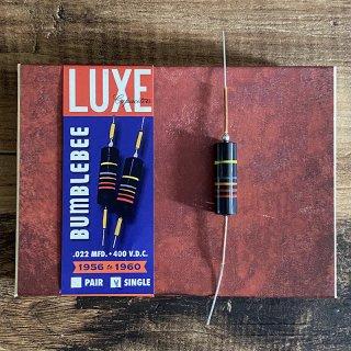 [新品]Luxe / 1956-1960 Single Oil-Filled .022mF Bumblebee Capacitor