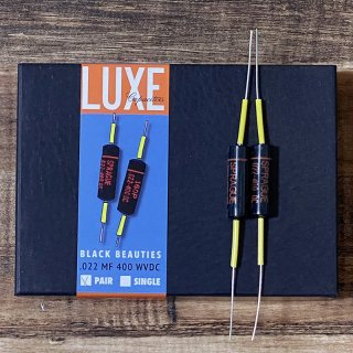 [新品]Luxe / 1960-1970 Matched Pair Paper & Foil .022mF Black Beauty Capacitors