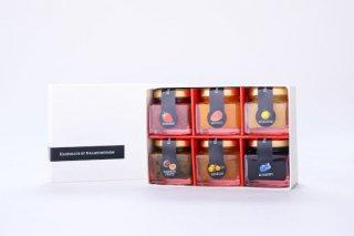南国宮崎フルーツミニジャムセットS(50g×6本)