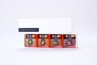 南国宮崎フルーツミニジャムセットS(50g×4本)
