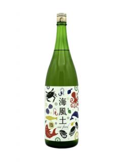 海風土 sea food 純米<br>今田酒造本店 1.8L