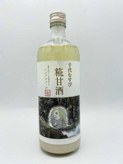 千代むすび 糀甘酒 アマビエラベル<br>(千代むすび酒造)785g