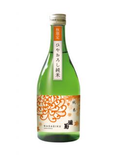 灘菊 ひやおろし 純米<br>灘菊酒造 500ml