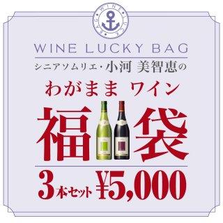 シニアソムリエ・小河美智恵のわがままワイン福袋 3本セット(送料込)