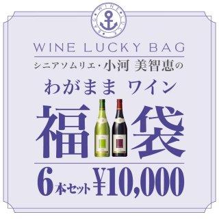 シニアソムリエ・小河美智恵のわがままワイン福袋 6本セット(送料込)
