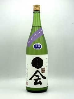 媛一会 純米吟醸 おりがらみ<br>小槽搾り 生酒<br>武田酒造 1.8L