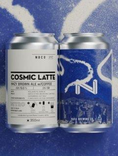 COSMIC LATTE<br>NARABREWING 350ml缶