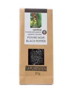 LA PLANTATION<br>POIVRE KAMPOT<br>黒胡椒 50g