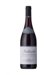 サンマに合う赤ワイン<br>コート・デュ・ローヌ・ルージュ・べルルーシュ<br>ミッシェル・シャプティエ