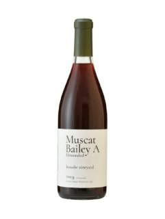 Muscat Bailey A Unwooded 2019<br>honobe vineyard<br>シャトー酒折