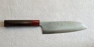 黒�優 磨き三徳170mm 紫檀柄  Yu Kurosaki migaki santoku with rosewood handle 22,000 JPY