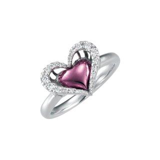 日本初 紫色の18金 K18ホワイトゴールド・パープルゴールドダイヤモンドリング