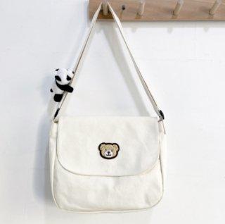 クマさんが可愛いメッセンジャーバッグ♪(全3色)