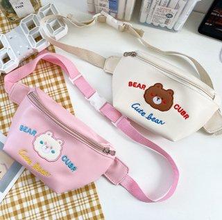 【在庫処分!】SALE!クマさんの可愛いボディバッグ(全2色)通常1,280円→550円