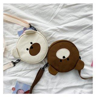 THE・クマさんのショルダーバッグ♪(全2色)