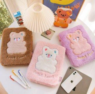 【milkjoy】CAKE BEARの可愛いiPadケース♪グッズ・小物入れにも(全3色)