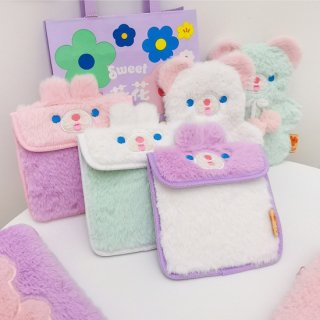 【milkjoy】CAKE BEARシリーズのマグネットロック式ナプキンポーチ!小物ポーチにも!(全3色)