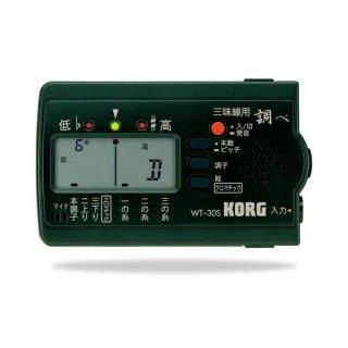 KORG 三味線専用チューナー(緑)