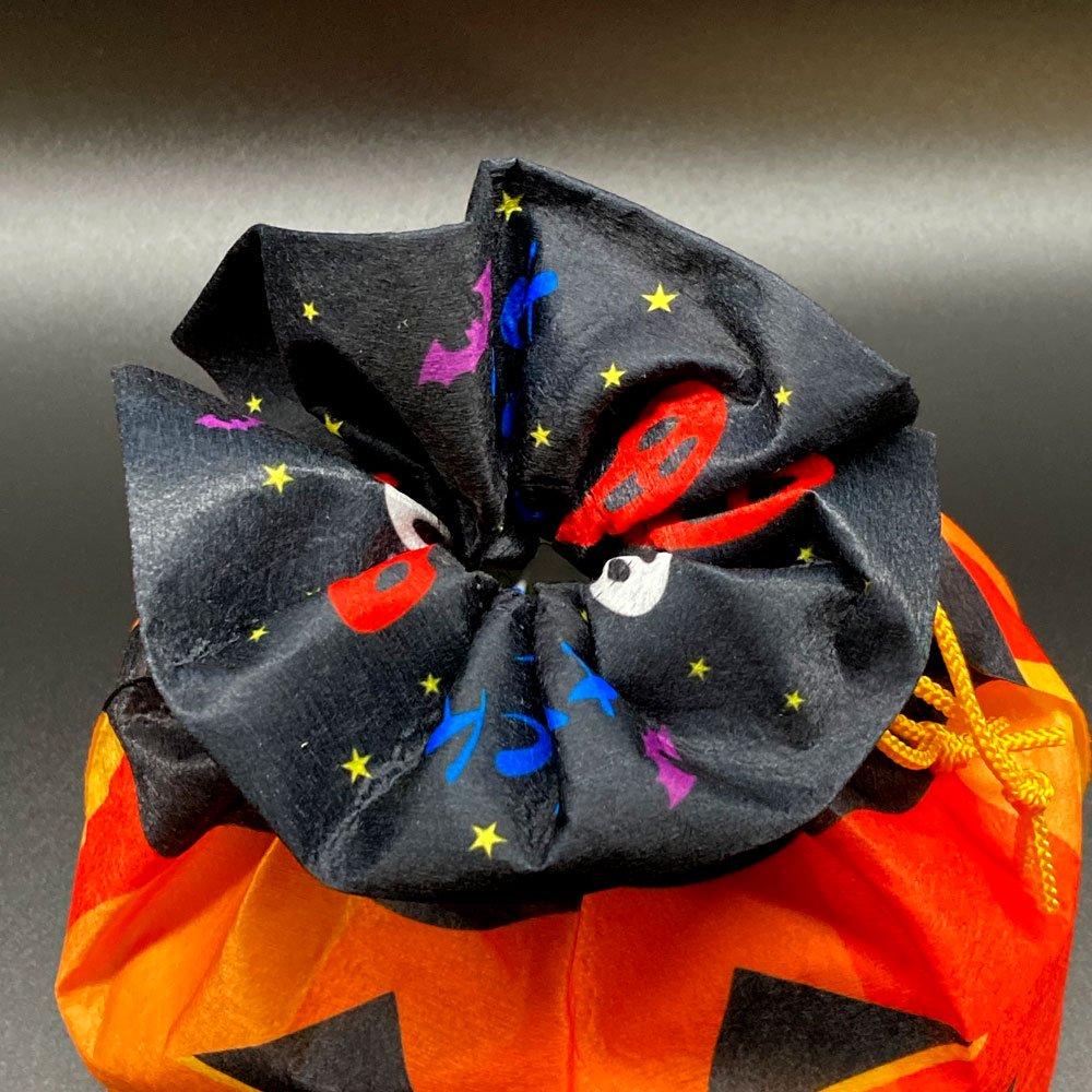季節柄の巾着袋 ハロウィン