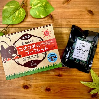 【おすすめ】コオロギコーヒー&コオロギのゴーフレット