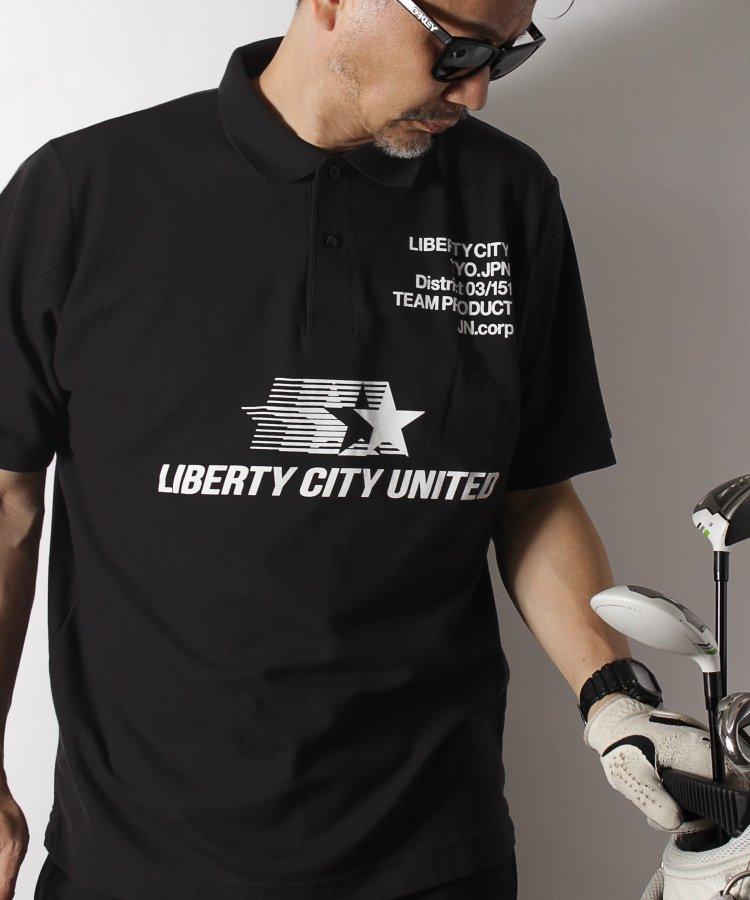 【LIBERTY CITY & TURF】 [LIBERTY CITY UNITED] ドライポロシャツ